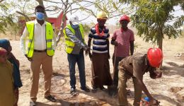 WASH Project - Provision of Clean water to Qansahley IDP Primary School